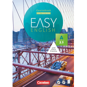 Easy English - A2: Band 1 - Kursbuch - Kursleiterfassung - Mit Audio-CD, Phrasebook, Aussprachetrainer und Video-DVD