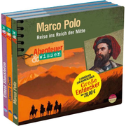 Große Entdecker Kennenlernangebot - Marco Polo, James Cook, Ernest Shackleton