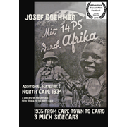 With 14 HP through Africa (DVD) - 1935 FROM CAPE TOWN TO CAIRO 3 PUCH SIDECARS