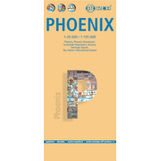 Phoenix, Borch Map - Phoenix, Phoenix Downtown, Scottsdale Downtown, Arizona, Heritage Square, Sky Harbour International Airport