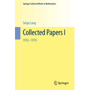 Collected Papers I - 1952-1970