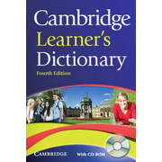 Cambridge Learner's Dictionary Fourth edition - Paperback with CD-ROM
