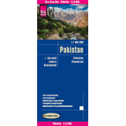 Reise Know-How Landkarte Pakistan (1:1.300.000) - world mapping project