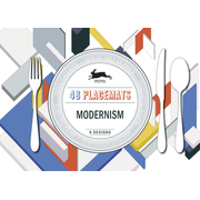Modernism - Placemat Pad
