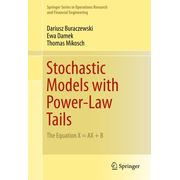 Stochastic Models with Power-Law Tails - The Equation X = AX + B