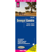 Reise Know-How Landkarte Senegal, Gambia (1:550.000) - world mapping project