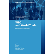 WTO and World Trade - Challenges in a New Era