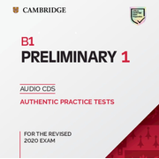 Cambridge English Preliminary 1 for revised exam from 2020 - Audio CD