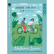 Feel-good-Puzzle 1000 Teile – NATURE LOVE: Spending time with you is so wonderful