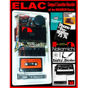 ELAC Compact Cassetten Recorder mit den NAKAMICHI-Chassis