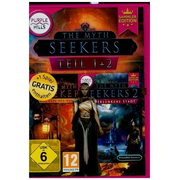 Myth Seekers, Teil 1 + 2, 1 CD-ROM (Sammler-Edition) - Wimmelbild-Adventure