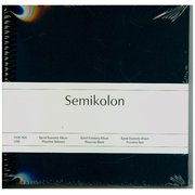 Semikolon Sprial Piccolino photo album Blue, Maroon 20 sheets