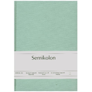 Semikolon 361777, Monotone, Green, A5, 160 sheets, 100 g/m², Hardcover