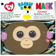 Ty Coconut Monkey Face Mask