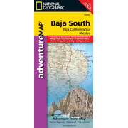 Baja California South - National Geographic Adventure Map