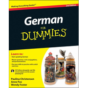ISBN German For Dummies, (with CD), 2nd Edition