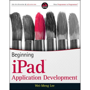 Wiley Beginning iPad Application Development software manual 600 pages
