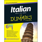ISBN Italian All-in-One For Dummies