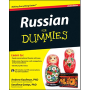 ISBN Russian For Dummies, 2nd Edition