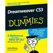 Wiley Dreamweaver CS3 For Dummies software manual 456 pages
