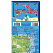 Cayman Islands Dive Map and Fishcard - Tauch- und Schnorchel Freizeitkarte