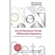 List of Nonlinear Partial Differential Equations