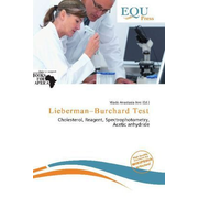 Lieberman Burchard Test - Cholesterol, Reagent, Spectrophotometry, Acetic anhydride