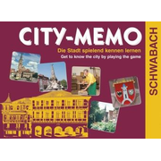 City-Memo, Schwabach (Spiel) - Die Stadt spielend kennen lernen. Get to know the city by playing the game