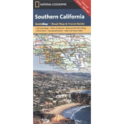 Southern California - National Geographic Guide Map