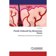 Fluids Induced by Brownian Force - Mathematical and Numerical Interpretation