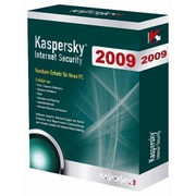 Kaspersky Lab Internet Security 2009, 1 User, DVD, Box, DE German 5 license(s)