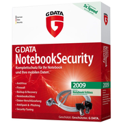 G DATA NotebookSecurity 2009, DE, 1-user German 1 license(s) 1 year(s)