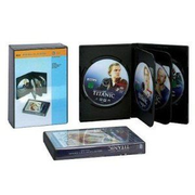 Beco DVD library boxes 6 discs Black