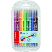 STABILO Trio 2 in 1 felt pen Multicolour 10 pc(s)