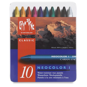 Caran d-Ache NEOCOLOR I Wax pastel Hard Blue 10 pc(s)