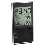 TFA-Dostmann 35.1102.01 digital weather station Black