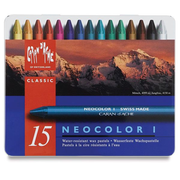 Caran d-Ache NEOCOLOR I Wax pastel Hard Blue, Multicolour 15 pc(s)