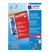 Avery 2790-100, Laser printing, A4 (210x297 mm), Gloss, 100 sheets, White, 170 g/m²