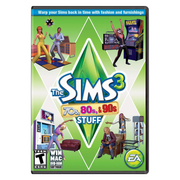 Electronic Arts Sims 3 70s, 80s, & 90s Video game add-on PC