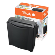 Peach PS400-15 paper shredder Strip shredding 75 dB 22 cm Black