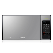 Samsung GE83X, Countertop, Grill microwave, 23 L, 800 W, Buttons, Silver
