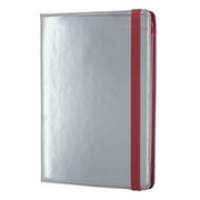 "Ascendeo AGFT001 tablet case 25.4 cm (10"") Folio Red, Silver"