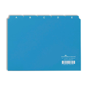 Durable 3650/06 index card Blue 25 pc(s)