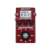Zoom MS-60B effects pedal Red