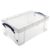 Really Useful Boxes 68502706 small parts/tool box Plastic Transparent