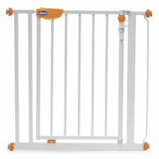 Chicco Nightlight baby safety gate Stainless steel White
