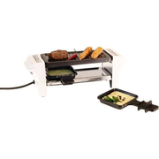 Nouvel 311745 raclette grill 2 person(s) Black, Grey, Stainless steel, White