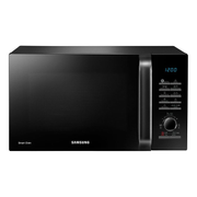 Samsung MC28H5185CK, Countertop, 28 L, 900 W, Buttons,Rotary, Black, Ceramic