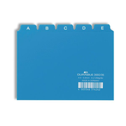Durable 3660/06 index card Blue 25 pc(s)