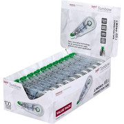 Tombow CT-CA4-20 correction tape 10 m Green, Transparent, White 20 pc(s)